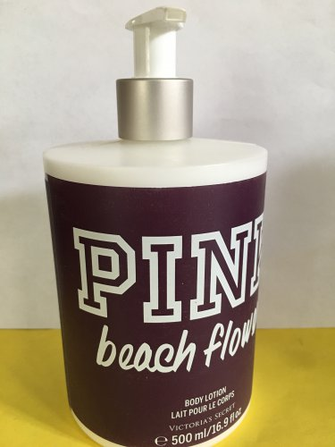 Victoria's Secret Pink Beach Flower Body Lotion Large Full Size 16.9 oz