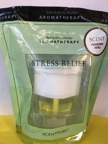 Bath & Body Works 1 Aromatherapy Eucalyptus Spearmint Scentport Refill Bulb