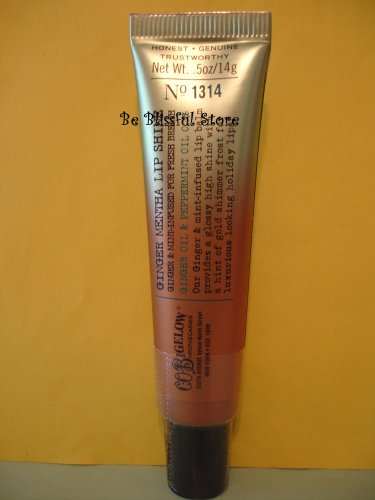 Bath & Body Works C.O Bigelow Ombre Tube Ginger Mentha Lip Shine #1314