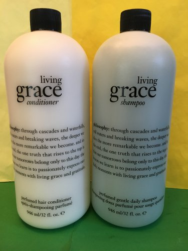 Philosophy Living Grace Shampoo and Conditioner XL 32oz