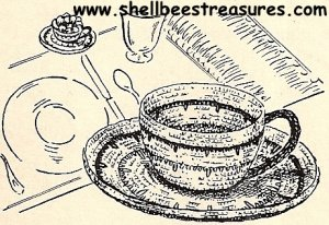 Free Teacup and Saucer Candle Cozy Crochet Pattern - Orble