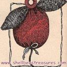 Knitted Apple String Holder Pattern Vintage 726025