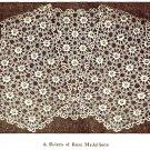 A Bolero of Rose Medallions, Crochet Pattern 1920s Vintage,723037