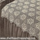 Star Dust Crocheted Bedspread Pattern Vintage 723020