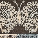 Butterfly Applique Pattern in Crochet Vintage - 723028