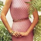 1950s Dress Knitting Pattern Vintage - 726006