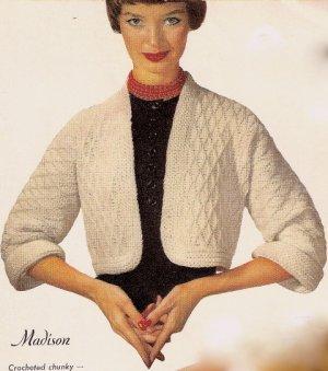 Crochet Shrug Pattern - LoveToKnow
