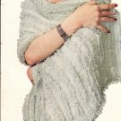 Hairpin Lace Shawl Pattern Vintage 725001