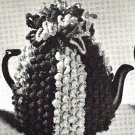 Popcorn Tea Cosy Crocheted Pattern - 3 sizes 723044