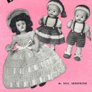 Doreen Dolls, 16 Crochet Patterns, E-Book 733001