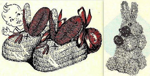 Bunny Bootees and A Bunny Crochet Pattern 723055