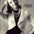 Shrug Jacket Knitting Pattern Vintage 726038