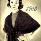 Gorgeous Angora Stole Knitting Pattern 726039