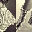 Ripple Jacket-Shrug and Bed Socks crochet Patterns 723065