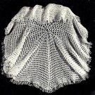 Victorian Shawl Crochet Pattern Vintage 723075