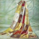Afghan Fantasy Crochet Pattern 723098