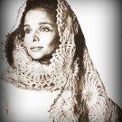 Mohair Stole Shawl Crochet Pattern
