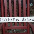 There's No Place LIke Home - Shabby Decorative Wood Vinyl Sign