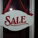 Retail Store Sale Shop Wood Sign - Cottage Shabby Advertising Wood Vinyl Sign