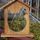 Help Our Feathered Friends - Wooden Fruit Bird Feeder Outdoor Garden Home Decor