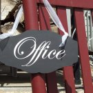 French Country Cottage Chic Style Shabby Office Store Wood Vinyl Sign