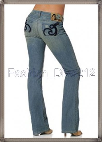bd70697a0973  98 House of Dereon Bootcut Light Denim Jeans 28 New Boot Cut Jean