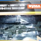 SYMA S012 R/C HELICOPTER MINI AH-64 APACHE 3 Channel