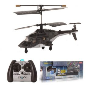 AWESOME Syma S018 R/C Helicopter Micro AirWolf 3 Channel