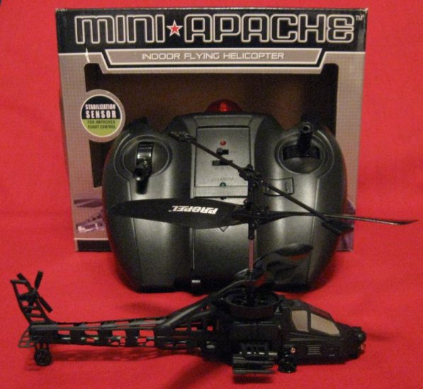 BEST R/C Propel Toys Mini Apache Helicopter W/LED Light