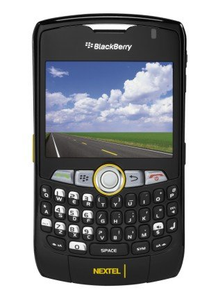 NIB Nextel Blackberry 8350i w/PTT Boost Mobile $50/mo