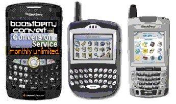 CD-Convert/Use Blackberry 8350i On Boost Mobile w/PTT