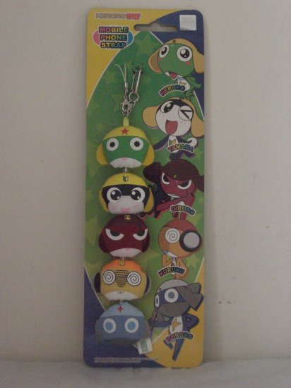 Mobile Phone Strap: Keroro & Friends
