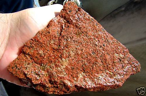 INCA PINKISH RED GRANITE 200gr7oz MINER MINING MINERAL