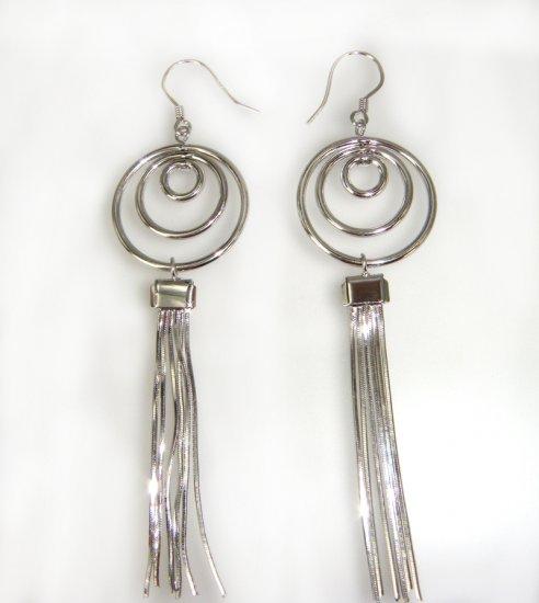 925 Sterling Silver Dangle Earrings