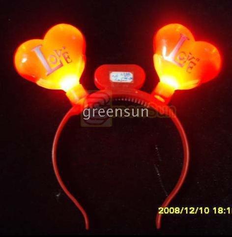 Party Dancing Club LED Flashing Love Heart PR1176