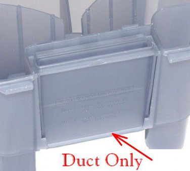 38661004 New Hoover Steam Vac Dirty Water Recovery Tank Duct Panel