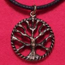 Antiqued Copper Plated Pewter Tree of Life Pendant U.S.A.