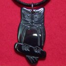 Hemalyke Classic Wise Owl Full Body Pendant Necklace
