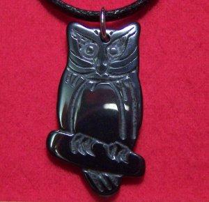 Hemalyke Classic Wise Owl Full Body Pendant Necklace