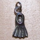 Pewter Scuba Diver Flipper Charm Lead Safe Made in U.S.A.