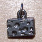 Pewter Cheese Charm Lead Safe Made in the U.S.A.