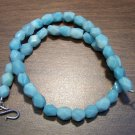 Amazonite Natural Stone Necklace with Sterling Silver Clasp