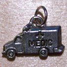 Pewter Ambulance - Medic Charm Lead Safe Made in the U.S.A.