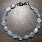 Moonstone Natural Stone Bracelet Sterling Silver Clasp U.S.A.