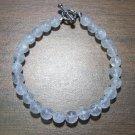 Crackle Quartz Natural Stone Bracelet Made in the U.S.A.