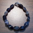 "Natural Stone Tribal Bracelet 7.5"" Made in the U.S.A."