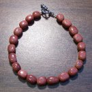 "4gs Goldstone Glass Bracelet 8"" Made in the U.S.A."