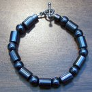 "Magnetic Hemalyke 7"" Bracelet mb5 Made in the U.S.A."