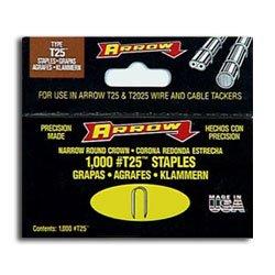 """Arrow #T25 3/8"""" 10mm Staples Item #256 ~ Qty. 1000"""