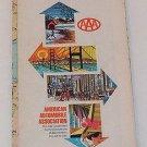 1970 - 1971 70 71 Ontario Canada AAA Transportation Road Highway Map